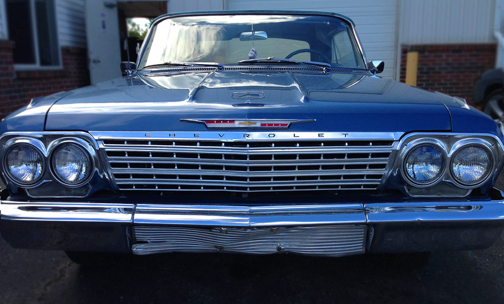 1962 Impala Triple Blue Convertible