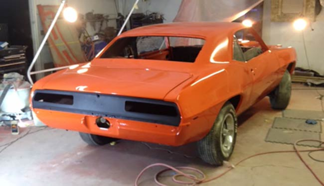 1969 Camaro SS 396 Hugger Orange