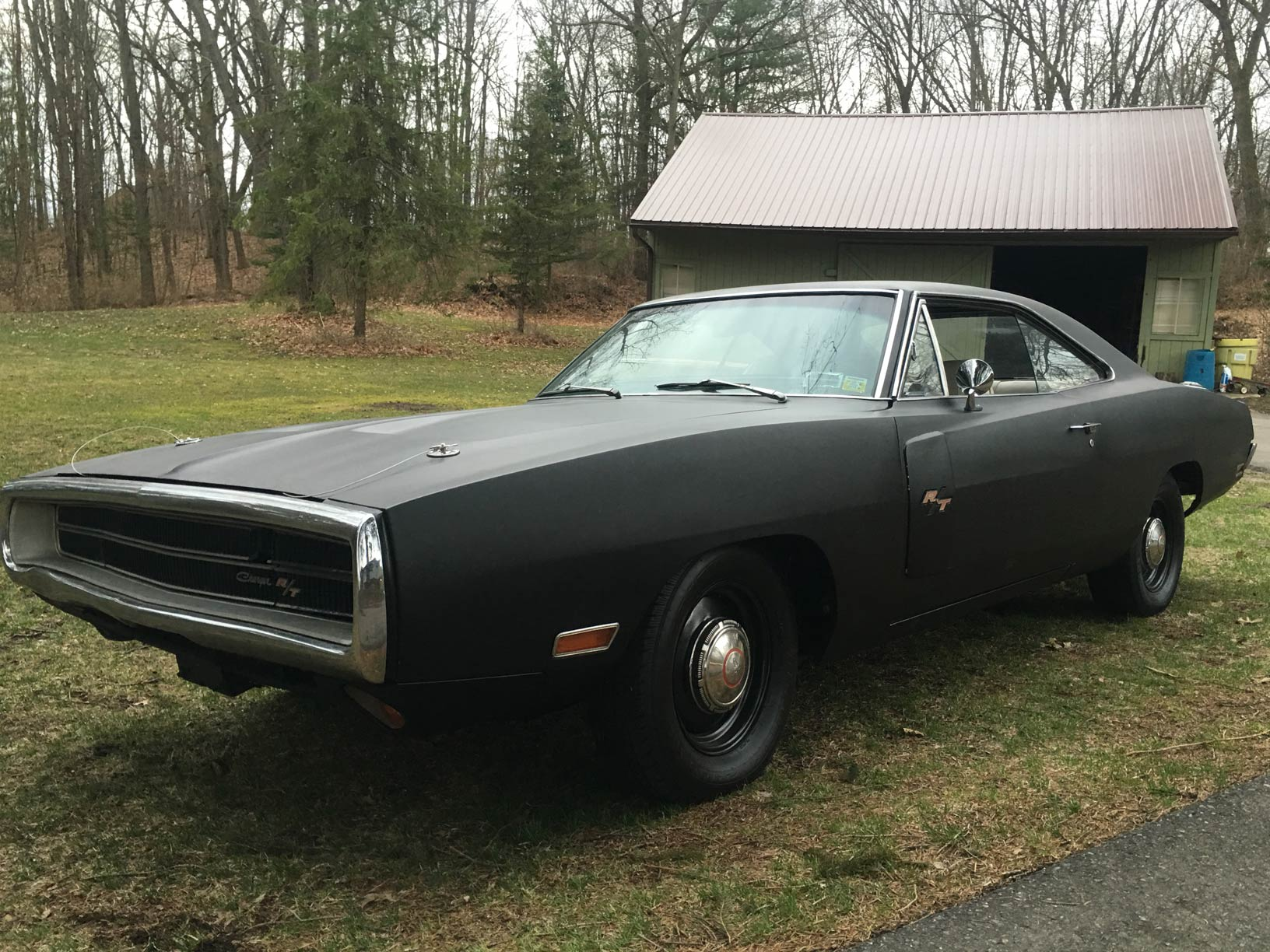 1970 charger Rt 440 u code fe5 red